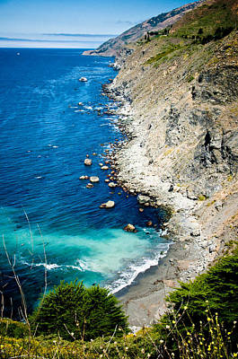 Photograph - California Coast by Mickey Clausen
