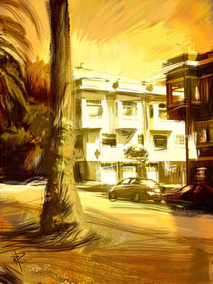 Mixed Media - California Gold by Russell Pierce