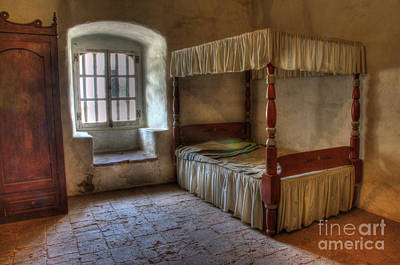 California Mission La Purisima Bedroom Art Print