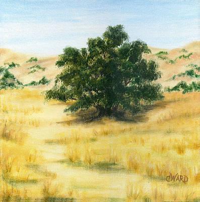 California Oak Art Print by Colleen Ward