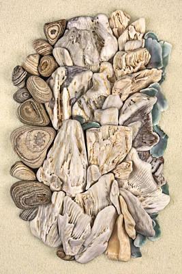 Sea Shells Photograph - California Opus 10 by Carol Zee