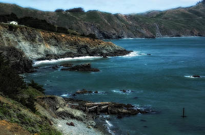 Photograph - California Shoreline by Gary Rose