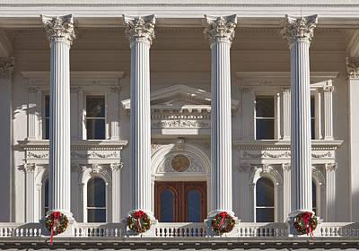 California State Capitol Building Art Print by Bryan Mullennix