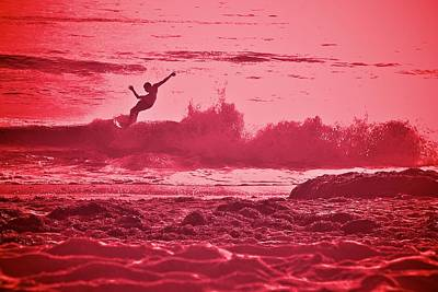 Photograph - California Surf Pink by Valerie Rosen