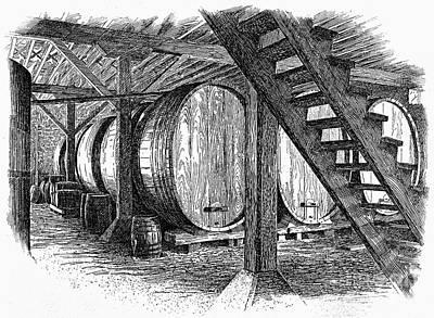 California: Winery, C1890 Print by Granger