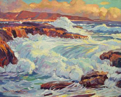 California's Coastline Art Print by David Lloyd Glover
