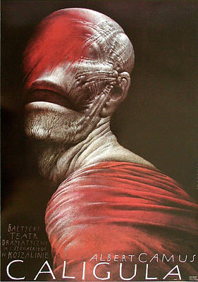 Mixed Media - Caligula by Wieslaw Walkuski