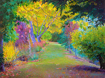 Calistoga Fall Art Print