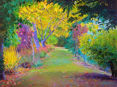 Calistoga Fall Original by Judith Barath