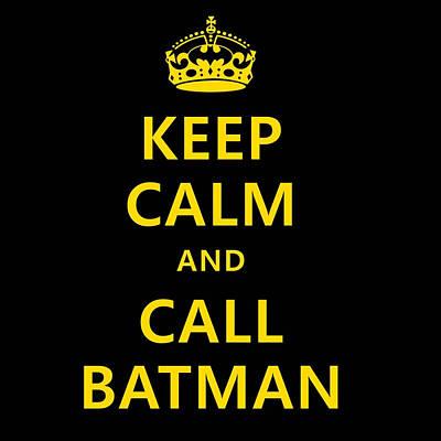 Call Batman Art Print
