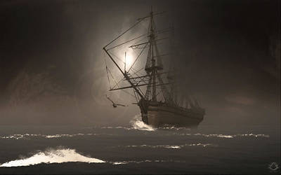 Pirate Ship Photograph - Call Of The Hoot by Lourry Legarde