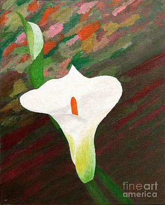 Calla Lily Art Print