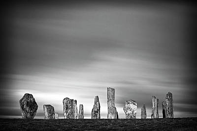 Callanish Standing Stones Art Print by Doug Chinnery