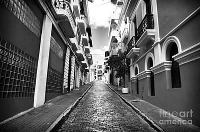 Photograph - Calle Vacia by John Rizzuto