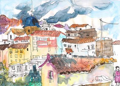 Callosa De Ensarria 02 Art Print by Miki De Goodaboom