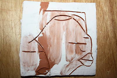 Calm - Tile Print by Gloria Ssali