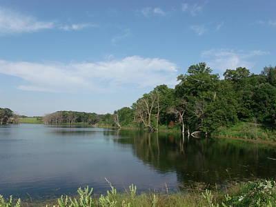 Calm Bay Lake Original by Brian  Maloney