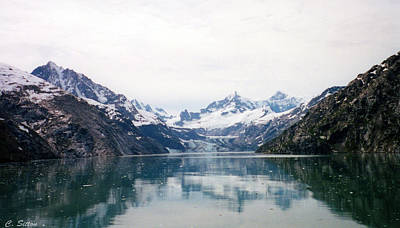 Photograph - Calm Glacier Bay by C Sitton