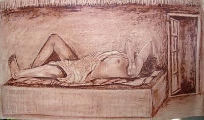 Etc. Painting - Calm Sleep by Jitendra Gavali