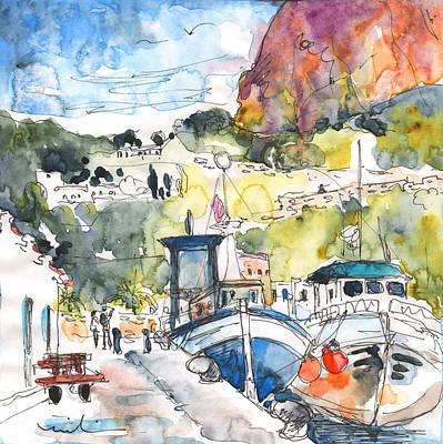 Calpe Harbour 05 Art Print by Miki De Goodaboom
