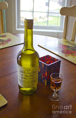 Photograph - Calvados And Candles by Donna Munro