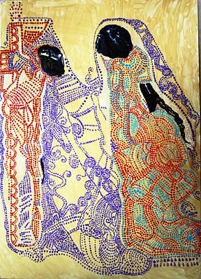 Painting - Calvary by Gloria Ssali