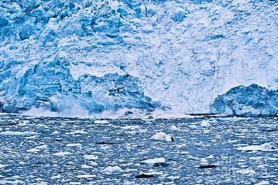 Door Locks And Handles - Calving Glacier by John Greim
