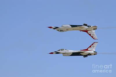 Air Show Photograph - Calypso Pass by Tim Mulina