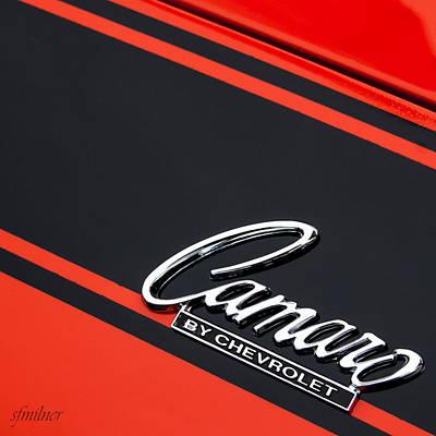 Camaro By Chevrolet Art Print by Steven Milner