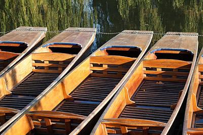 Photograph - Cambridge Punts by Ian Merton