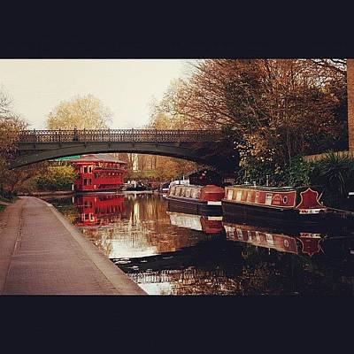 London Wall Art - Photograph - #camden #camdencanal #camdentown by Ozan Goren
