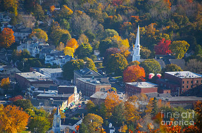 Photograph - Camden Colors by Charles  Ridgway