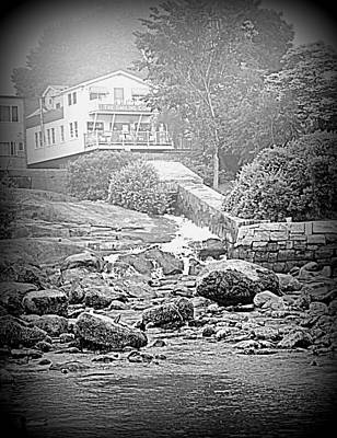 Photograph - Camden Falls In The Fog by Doug Mills