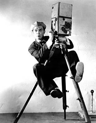 Cameraman, Buster Keaton, 1928 Print by Everett