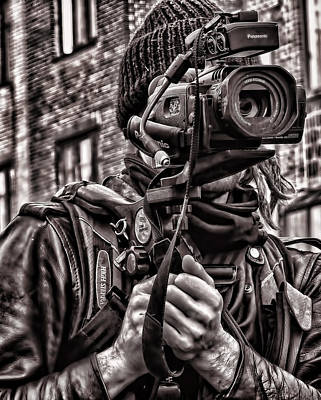 Photograph - Cameraman by Robert Knight