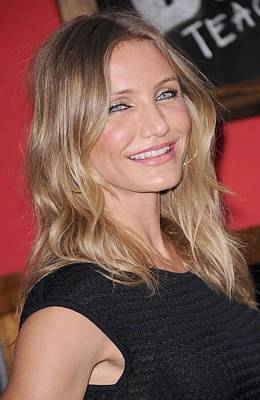 Diaz Photograph - Cameron Diaz At Arrivals For Bad by Everett