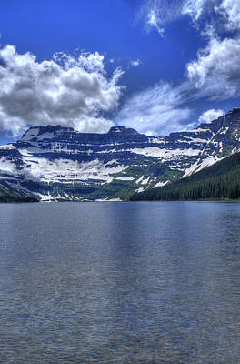 Photograph - Cameron Lake Reflections by Don Wolf