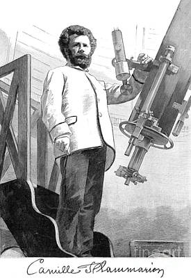 Camille Flammarion, French Astronomer Art Print by Science Source