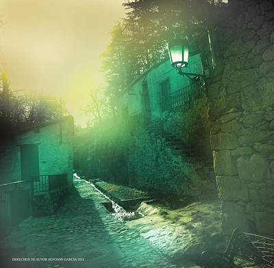 Art Print featuring the photograph Camino A La Huerta by Alfonso Garcia