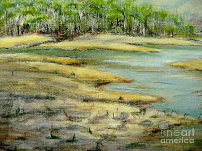Pastel - Camp Giddeon's Cove by Gretchen Allen