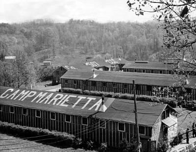 Compulsion Photograph - Camp Marietta, Were The Quarters by Everett
