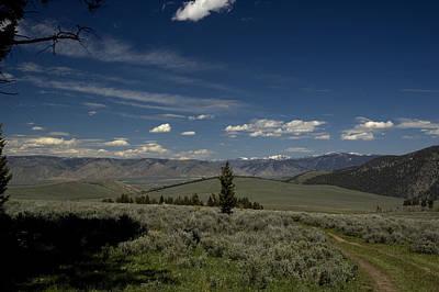 Photograph - Camp View by Sara Stevenson