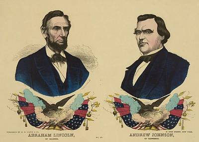 Campaign Banner For The Republican Art Print by Everett