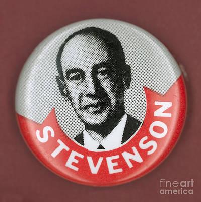 Campaign Button Art Print