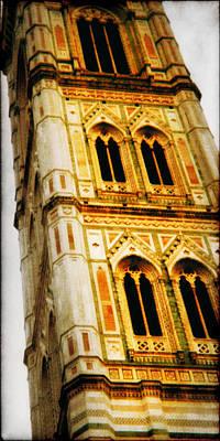 Campanile Di Giotto Original by Li   van Saathoff