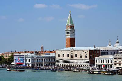 Campanile San Marco Print by Terence Davis