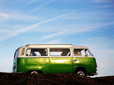 Camper Van Art Print by David Harding