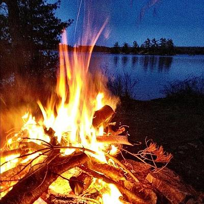 Instagood Photograph - Campfire by Christopher Campbell