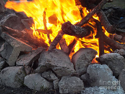 Photograph - Campfire by Tammy Herrin