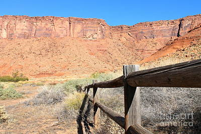 Photograph - Camping Area In Moab by Pamela Walrath